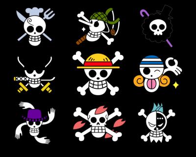 Drapeaux One Piece